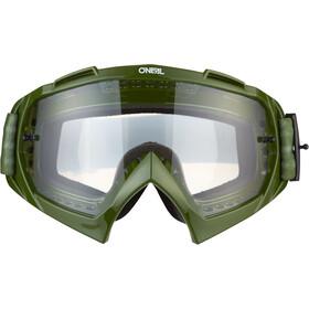 O'Neal B-10 Gafas, warhawk green/sand-clear